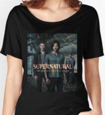 Sam Dean Supernatural Cover Women's Relaxed Fit T-Shirt