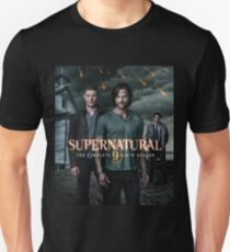 Sam Dean Supernatural Cover Unisex T-Shirt