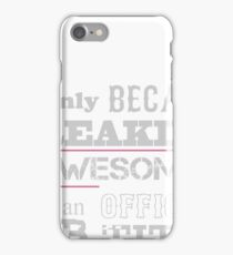 Cartoonist Only Because Freaking Awesome Is Not An Official Job Title - Tshirts & Hoodies iPhone Case/Skin