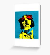 I LOVE DOG Greeting Card