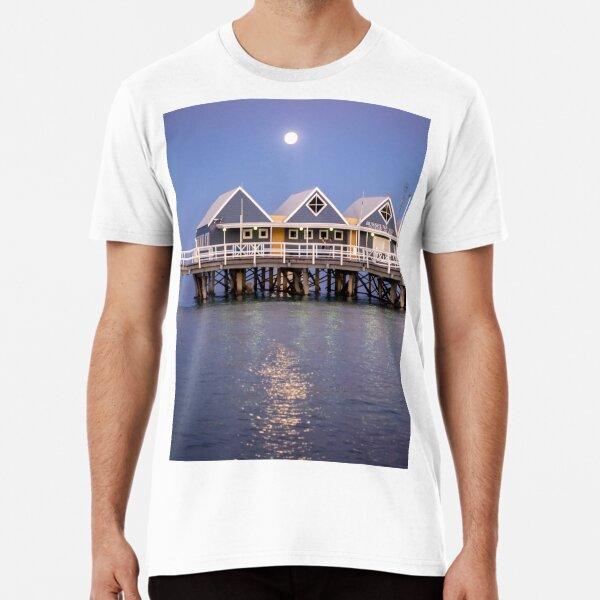 Super moon reflection at Busselton Premium T-Shirt