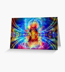 Lotus of Spiritual Love Greeting Card