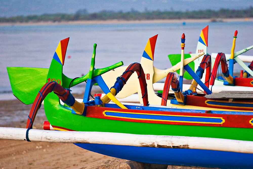 Painted Boats by Matt Koenig