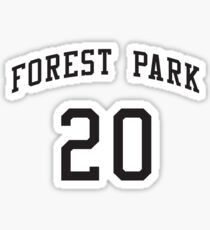Jacob Whitmore 20 Forest Park Highlanders Basketball Streetballers Sticker