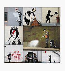 Banksy Montage 05 Photographic Print