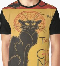 Soon, the Black Cat Tour by Rodolphe Salis Graphic T-Shirt