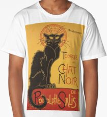 Soon, the Black Cat Tour by Rodolphe Salis Long T-Shirt