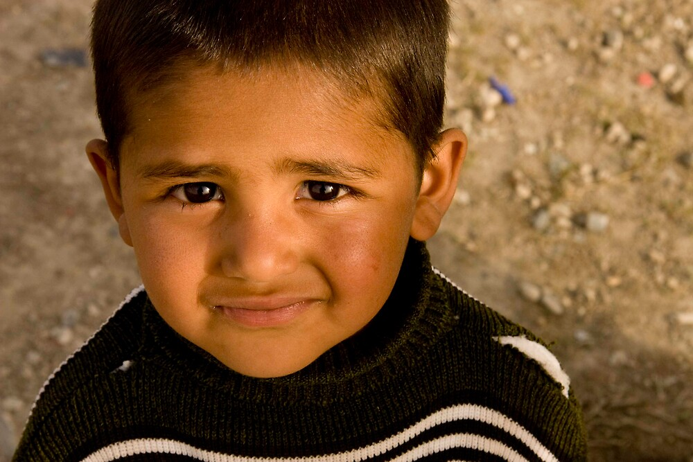 Child of Afghanistan 5 by Jacob Simkin