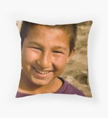 Child of Afghanistan 6 Throw Pillow