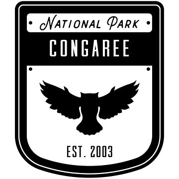 Congaree National Park Badge Design by nationalparks