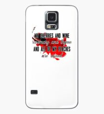 Cherry Lyric Phone Case Case/Skin for Samsung Galaxy