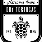 Dry Tortugas National Park Badge Design by nationalparks