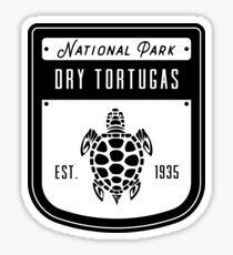 Dry Tortugas National Park Badge Design Sticker