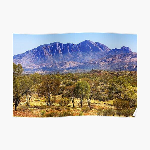 1113 Albert Namatjira Country - NT Poster
