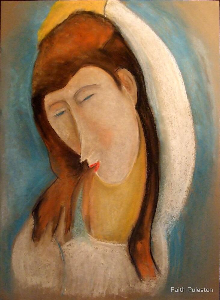 Apologies to Modigliani by Faith Puleston