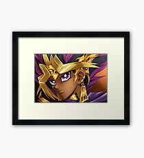 Yu-Gi-Oh ~Pharoah Atem~ Framed Print