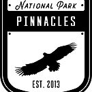 Pinnacles National Park Badge Design by nationalparks