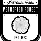 Petrified Forest National Park Badge Design by nationalparks