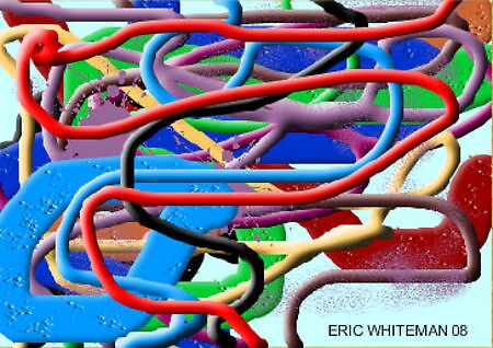 (A CAN OF WROMS ) ERIC WHITEMAN ART by eric  whiteman