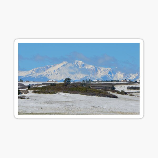 The Majesty of Pike's Peak, Colorado Sticker