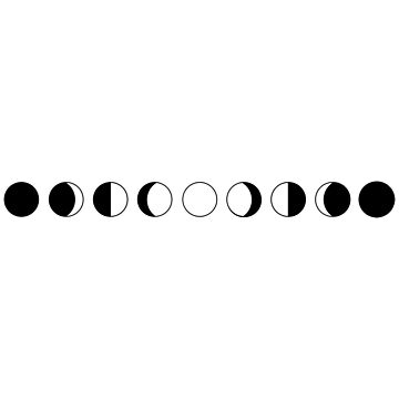 Lunar phases 02 by sphyinxx