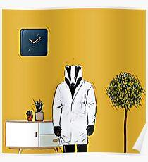 Doctor Badger Poster