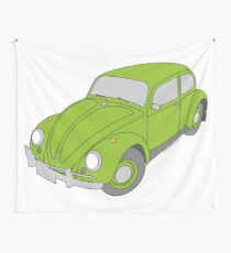 VW Beetle Wall Tapestry