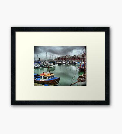 Ramsgate Marina Framed Print