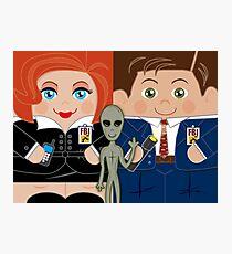 Alien Investigators Photographic Print