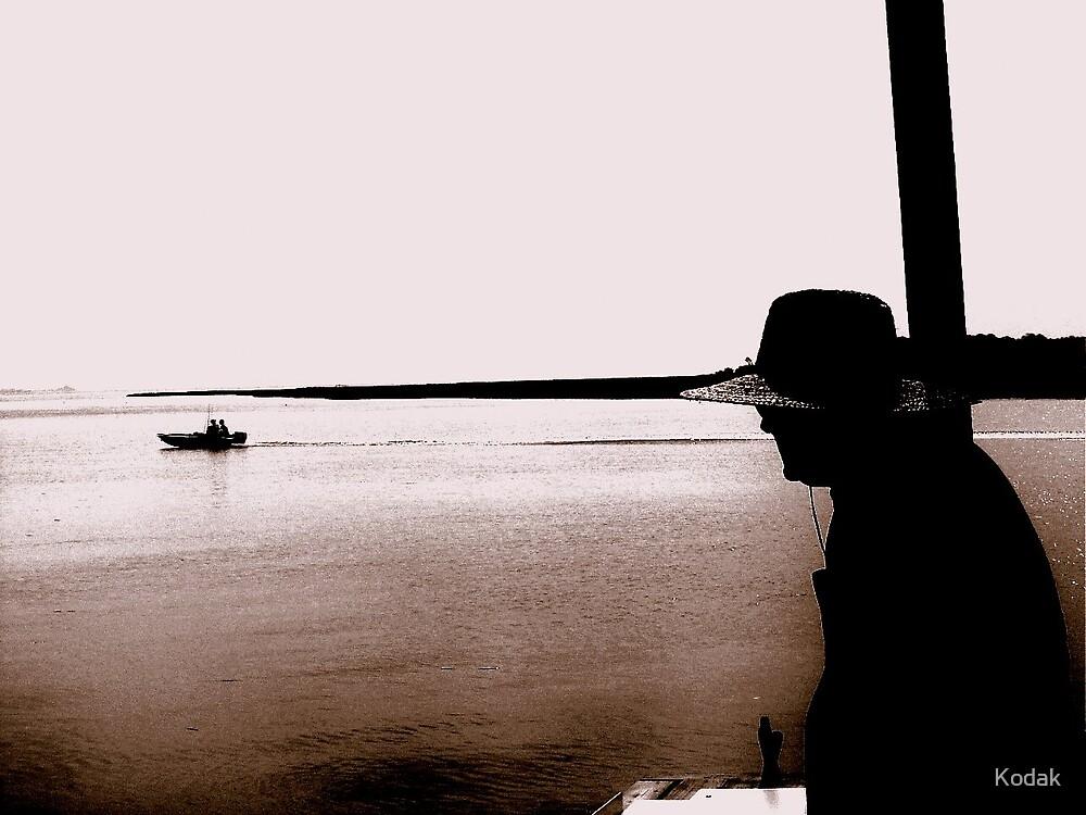 As I watch the water... by Kodak