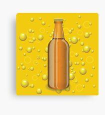 beer bottle Canvas Print