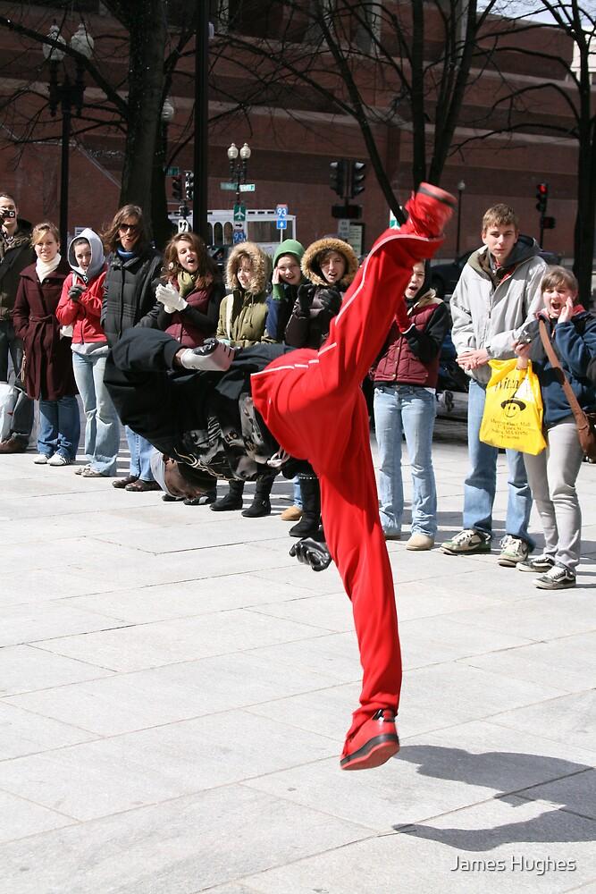 Street Break-Dancing by James Hughes