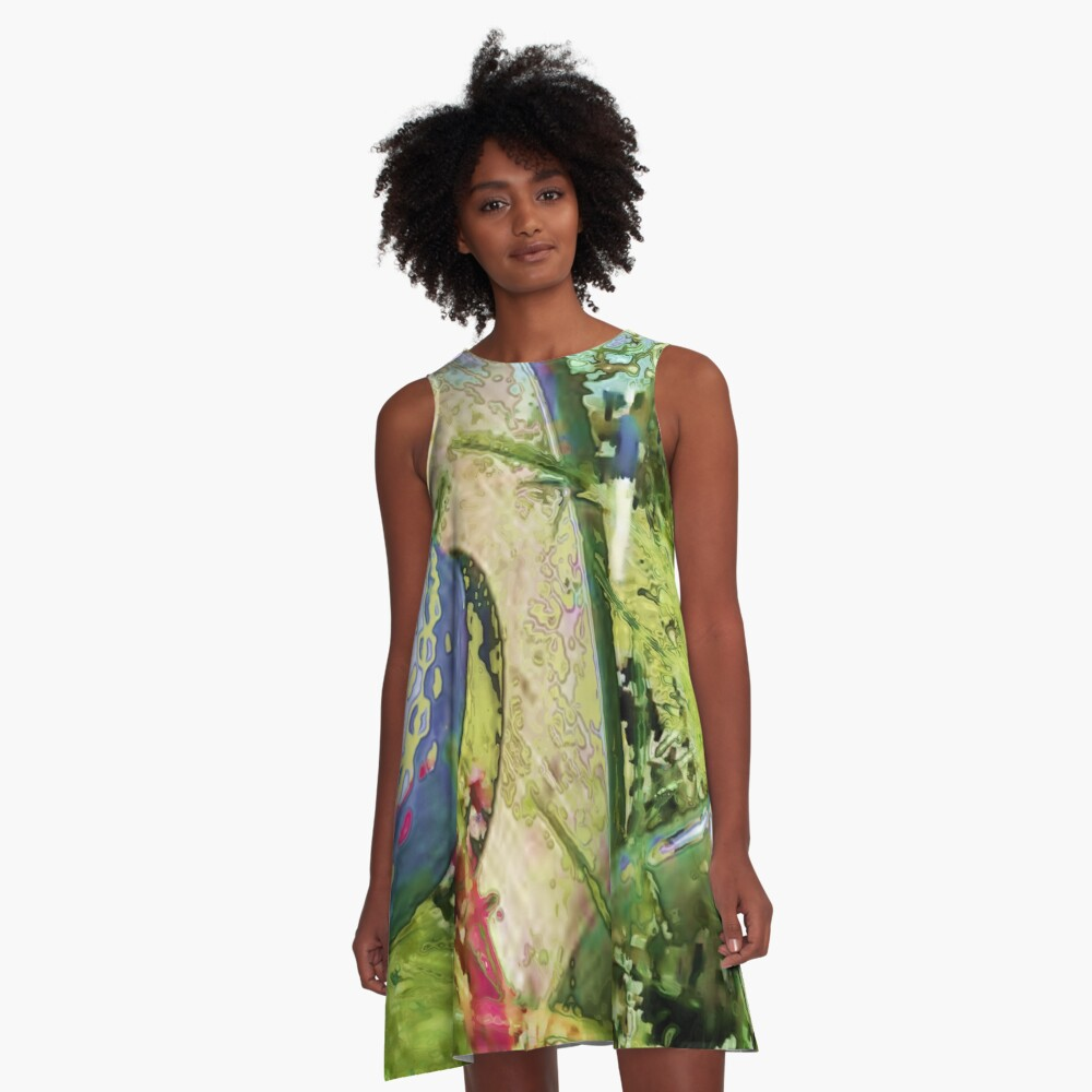 Golf club graphic style A-Line Dress
