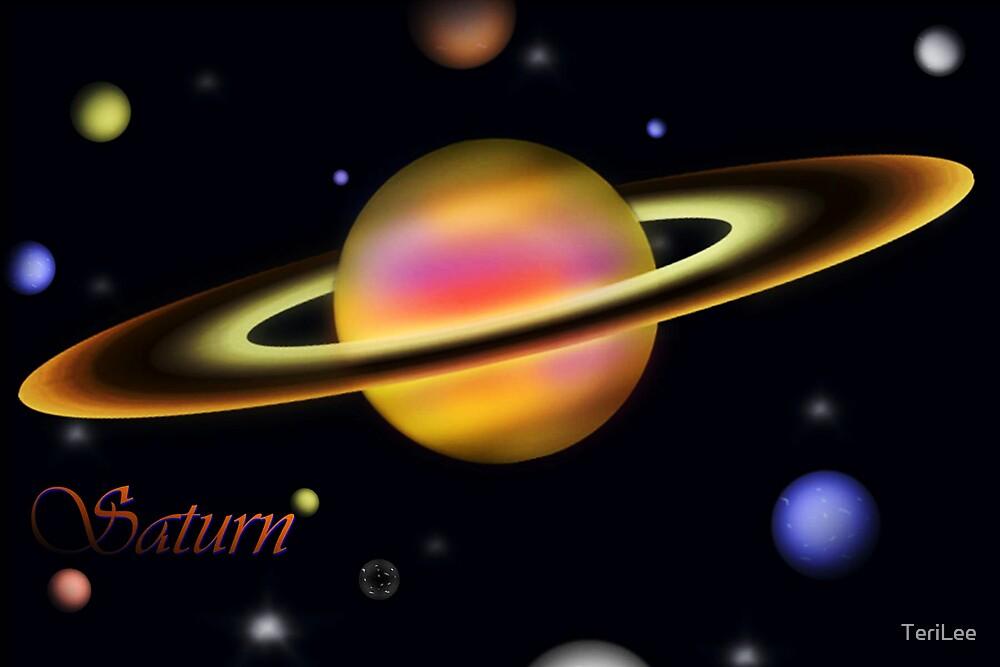 Saturn by TeriLee