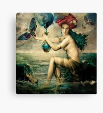 The Blessed Temperance Canvas Print