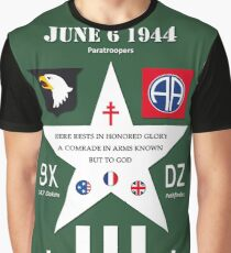 D Day WW2 Memorial Decoration Graphic T-Shirt