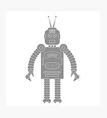 robot icon Photographic Print