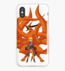 Naruto and Kurama iPhone Case/Skin