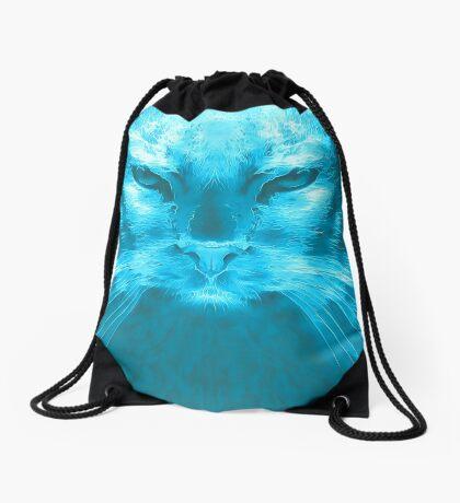LightCyan Drawstring Bag