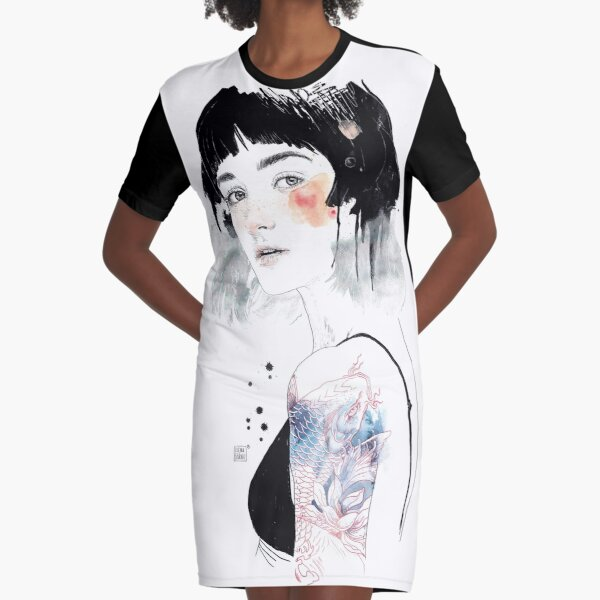 MIRACLE Graphic T-Shirt Dress