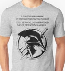 The Spartan Epitaph  T-Shirt