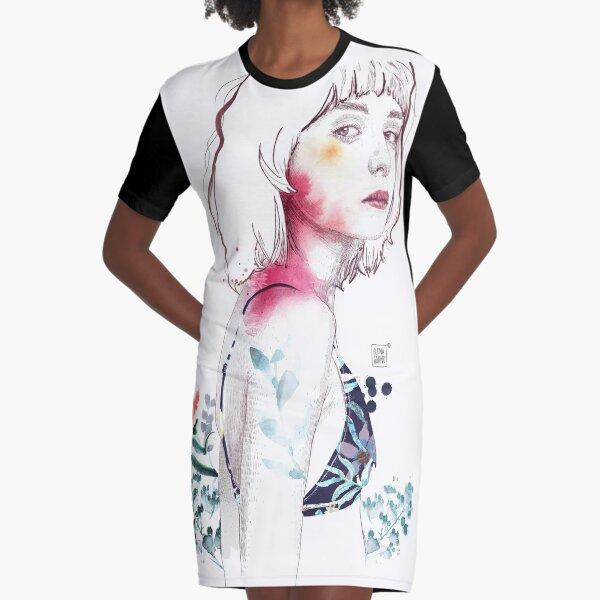 SENSE Graphic T-Shirt Dress