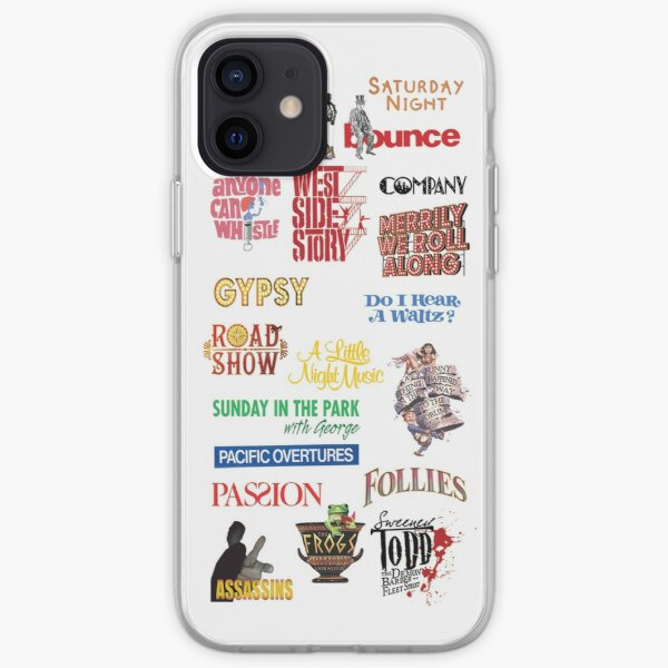 Sondheim Musicals  iPhone Soft Case
