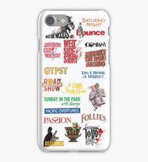 Sondheim Musicals  iPhone Case/Skin