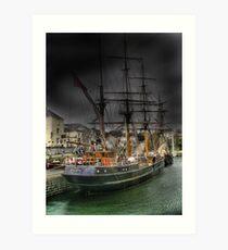 Tall Ship Art Print