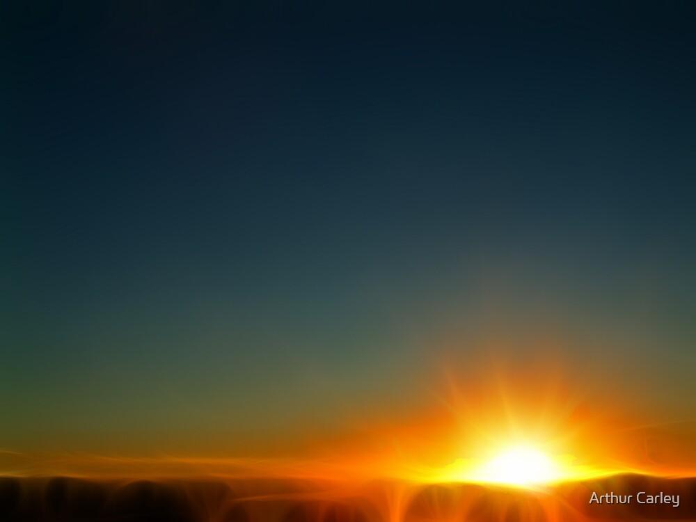 Sun Rise by Arthur Carley