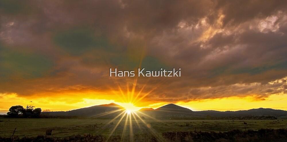 1171 You Yangs Sunburst by Hans Kawitzki