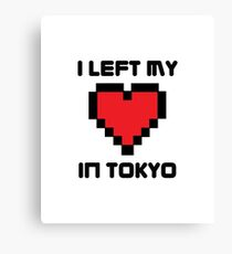 I Left My Heart in Tokyo Canvas Print