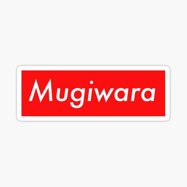 Mugiwara one piece supreme sticker Sticker