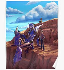 Transformers Prime - Arcee and kids. Poster